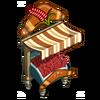 Red Australian Wheat Stall-icon