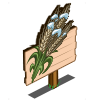 Winter Grain Mastery Sign-icon