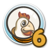 Cluck Rogers Chicken in Space Quest 6-icon