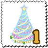 Gleaming Gala Tree Stamp-icon