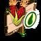 Organic Red Corn Mastery Sign-icon