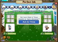 Perfect Job Question 12