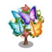 Glowing Butterfly Tree-icon