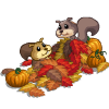 Squirrel Leaves-icon