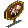 Aloha Cow Mastery Sign-icon