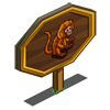 Gold Lion Tamarin Mastery Sign-icon