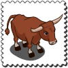 Ox Stamp-icon