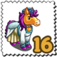 Renaissance Pony Stamp-icon