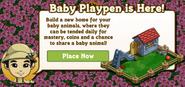 Baby Playpen Notification