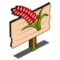 Red Australian Wheat Mastery Sign-icon