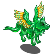 Winged Spirit Wolf-icon