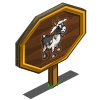 American Alpine Goat Mastery Sign-icon