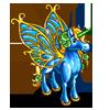 Blue Glass Pegacorn-icon