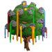 Buckets of Paint Tree-icon