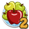 Cream of the Crop (goal-bobbing for apples)-icon