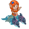 Dolphin Mermaid-icon