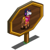 Kimono Horse Mastery Sign-icon