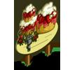 Big Strawberry Cake Tree Mastery Sign-icon