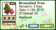 Bromeliad Tree Market Info (July 2012)