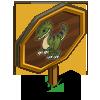 Dilophosaurus Mastery Sign-icon