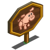Penelope Pig Mastery Sign-icon
