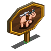 Pilot Pig Mastery Sign-icon