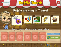 Raffle Booth Draw 12 March 2012