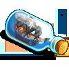 Ships in a bottle-icon