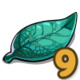 Turquoise Leafs-icon