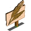 Wheat Mastery Sign-icon