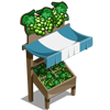 White Grape Stall-icon