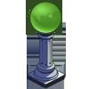 Deco gazingballgreen icon