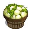 Eggplant White Bushel-icon