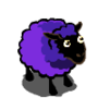 HanPurple BlueViolet Sheep