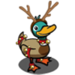 Reindeer Duck-icon