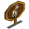 OK Cowboy Horse Mastery Sign-icon