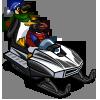Penguin Snow Mobile-icon