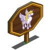 Fluffy Pegacorn Mastery Sign-icon