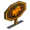 Pumpkin Pig Mastery Sign-icon