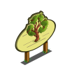 Recycle Tree Mastery Sign-icon