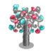 Silver and Jewels Tree-icon