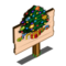 Christmas Tree Crop Mastery Sign-icon