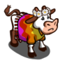 Found Groovy Cow