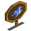 Blue Fur Seal Mastery Sign-icon