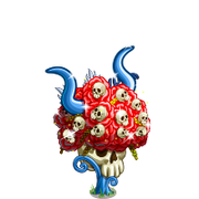Skull Flower Tree-icon