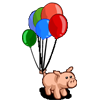 Birthday Piggy-icon