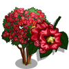 Red Rocket Crape Tree-icon