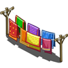 Sari Clothes Line-icon