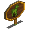 Topiary Horse Mastery Sign-icon