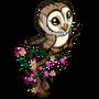 White Barn Owl-icon
